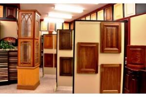 Salle de montre pour portes d'armoires
