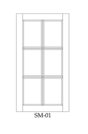 Frame for glass SM-01