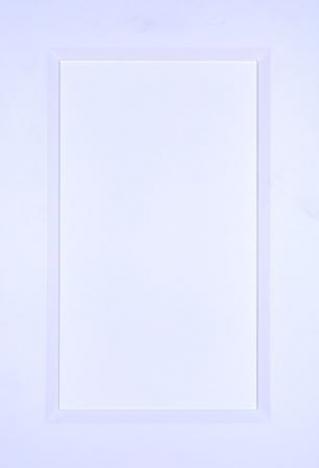 Porte MDF 2 morceaux laquee blanche 15700