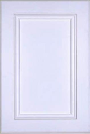 Portes d'armoires en MDF 2 morceaux et moulure appliquee modele 15910