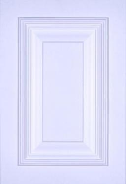 Portes d'armoires en MDF 2 morceaux et moulure appliquee modele 25290-13L