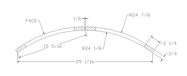 """24"""" radius convex doors"""