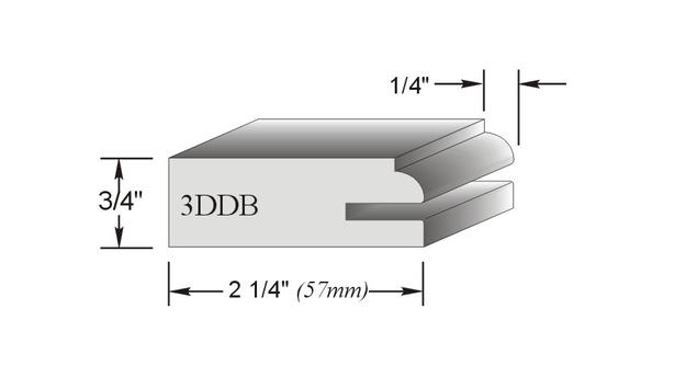 montant de porte d'armoire 3DDB