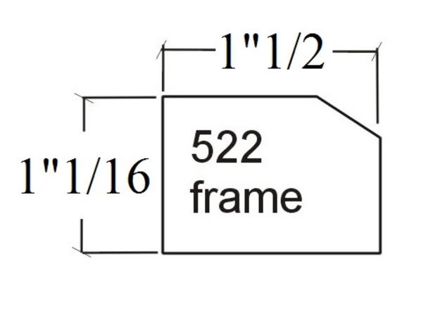 522 face frame
