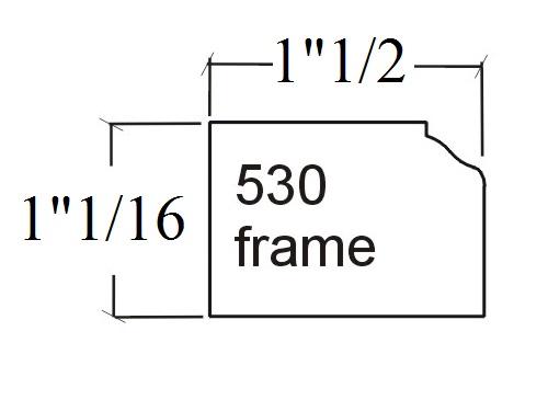 530 face frame