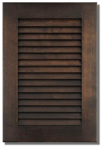 Porte d'armoire persienne #830